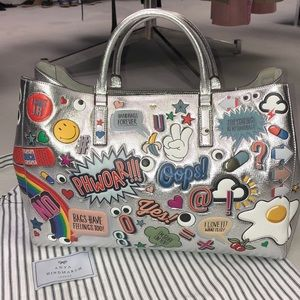 ANYA HINDMARCH EBURY MAXI ALL OVER STICKER TOTE